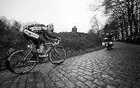 3 Days of West-Flanders, .day 3: Nieuwpoort-Ichtegem.Baptiste Planckaert on the Kemmelberg