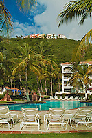 El Conquistador Resort, Swimmimg Pool,  Las Casitas Village,  Las Croabas, Fajardo, Puerto Rico, USA,  Caribbean; Island; Greater Antilles; Commonwealth Puerto Rico
