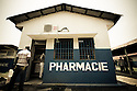 This is the biggest pharmacy, in the biggest hospital, in the biggest city of the Democratic Republic of Congo. Kinshasa General Hospital, Kinshasa, DRC.
