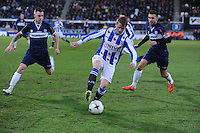 VOETBAL: HEERENVEEN: Abe Lenstra Stadion, 07-02-2015, Eredivisie, sc Heerenveen - PEC Zwolle, Eindstand: 4-0, Sam Larsson (#11), ©foto Martin de Jong
