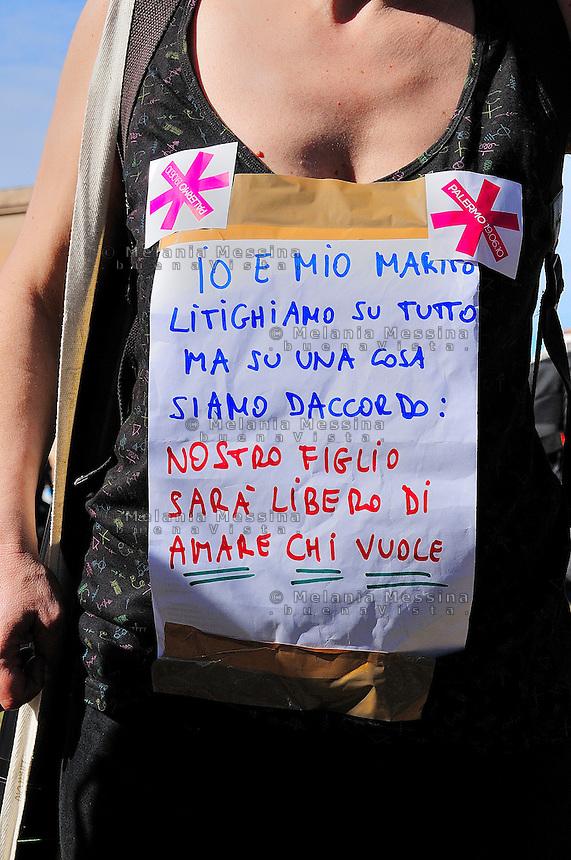Palermo, first gay pride in Sicily.<br /> Palermo, primo gay pride in Sicilia.