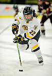 16 October 2010: University of Vermont Catamount forward Chelsea Rapin, a Junior from Walled Lake, MI, in action against the Boston College Eagles at Gutterson Fieldhouse in Burlington, Vermont. The Lady Cats fell to the visiting Eagles 4-1 in the second game of their weekend series. Mandatory Credit: Ed Wolfstein Photo
