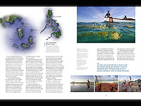 Article in Asian Geographic about the seaweed farmers of the Caluya Islands, Philippines.