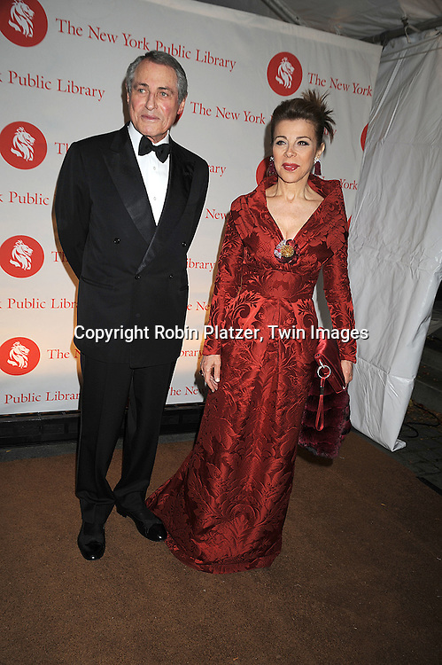 Gil Shiva and Princess Firyal..arriving at The New York Public Library 2008 Library Lions Benefit Gala on November 3, 2008 at The New York Public Library at 42nd Street and 5th Avenue.....Robin Platzer, Twin Images