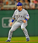 21 June 2008: Texas Rangers' center fielder Josh Hamilton in action against the Washington Nationals at Nationals Park in Washington, DC. The Rangers defeated the Nationals 13-3 in the second game of their 3-game inter-league series...Mandatory Photo Credit: Ed Wolfstein Photo