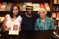 ' Letters from Black America' with Ruby Dee and Anthony Chisholm held at Barnes & Noble