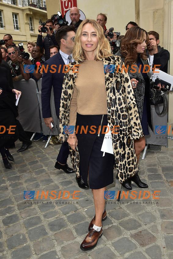 Alexandra Golovanoff <br /> Dior fashion show arrivals - Paris - 30/09/2016