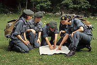Donne Forestali. Corso di addestramento. Forestry women. Training course...