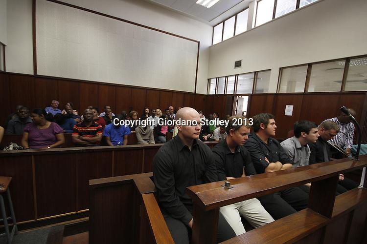 Rugby Fan Death Five in Court For Rugby Fan's
