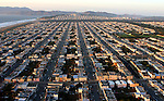 October 29, 2005; San Francisco, CA, USA; Aerial view of the Sunset neighborhood in San Francisco, CA. Photo by: Phillip Carter