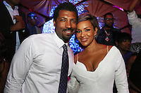 LOS ANGELES, CA - JUNE 26: Deon Cole and LisaRaye at the Mark Pitts & Bystorm Entertainment post 2016 BET Awards Celebration at Bootsy Bellows in Los Angeles, California on June 26, 2016. Credit: Walik Goshorn/MediaPunch