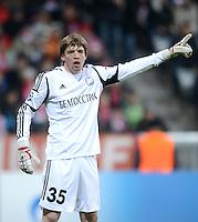 FUSSBALL   CHAMPIONS LEAGUE   SAISON 2012/2013   GRUPPENPHASE   FC Bayern Muenchen - FC Bate Borisov              05.12.2012 Torwart Andrei Gorbunov (FC Bate Borisov)