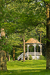 Village Gazebo in Spring, Eagles Mere, PA