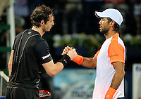 PICTURE BY MARK GREEN/SWPIX.COM ATP Dubai Duty Free Tennis - Dubai Tennis Stadium - 04/03/17 -  Final.<br />