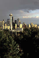 Seattle skyline, Seattle, Washington