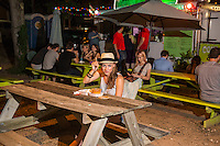 Austin's food-court trailer parks offer upscale food and are the 'Gateway to East Austin'.