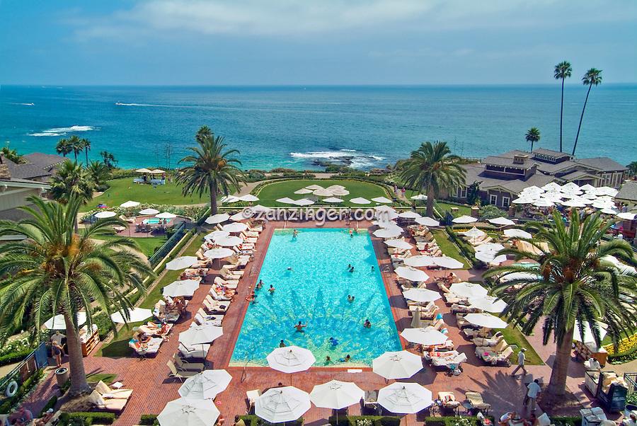 Montage Resort 5 Star Hotel Swimming Pool Laguna Beach California Seaside Resort Artist