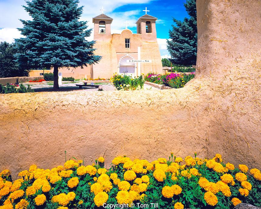 Mission San Francisco de Asis, Ranchos de Taos, Taos, New Mexico, June 1999