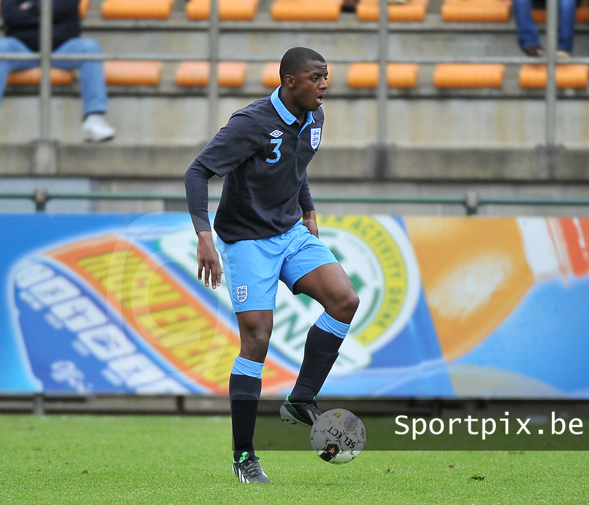Belgium U19 - England U19 : Gregory Leigh (3).foto DAVID CATRY / Nikonpro.be