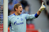 FUSSBALL   1. BUNDESLIGA   SAISON 2011/2012    10. SPIELTAG Bayer 04 Leverkusen - FC Schalke 04                        23.10.2011 Torwart Lars UNNERSTALL (Schalke)