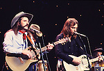 "Bellamy Brothers 1981 on ""Midnight Special"".© Chris Walter."