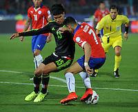 Chile (CHI) vs Mexico (MEX), 15-06-2015. CA_2015