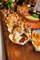 Chef Jeff Dueck (Frank at the AGO) serves up Vegan Fava Purée, with Sunchokes and Winter Vegetables chips at FoodShare Toronto's Recipe for Change, February 28,  2013