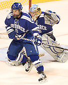 Adam McKenzie (Air Force - 6) - The Boston College Eagles defeated the Air Force Academy Falcons 2-0 in their NCAA Northeast Regional semi-final matchup on Saturday, March 24, 2012, at the DCU Center in Worcester, Massachusetts.