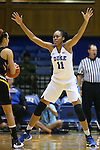 05 November 2015: Duke's Azura Stevens. The Duke University Blue Devils hosted the Pfeiffer University Falcons at Cameron Indoor Stadium in Durham, North Carolina in a 2015-16 NCAA Women's Basketball Exhibition game. Duke won the game 113-36.