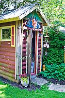 Fun garden shed