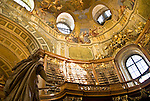 The Prunksaal of the National Library in Vienna, Austria