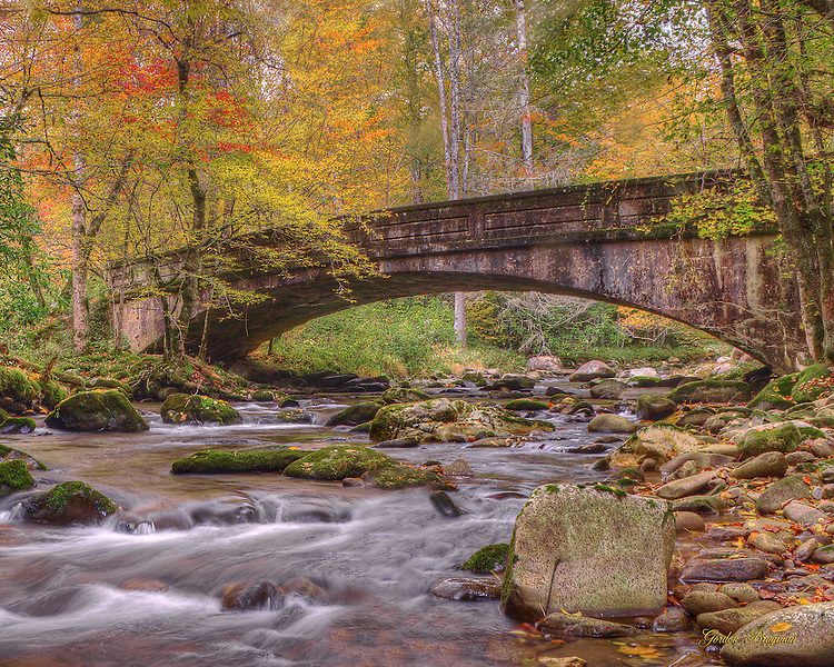 The Bridge In Fall (HDR)