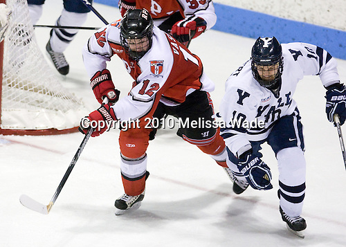 Garett Vassel (RPI - 12), Kevin Limbert (Yale - 10) - The Rensselaer Polytechnic Institute (RPI) Engineers defeated the Yale University Bulldogs 4-0 on Saturday, January 30, 2010, at Ingalls Rink in New Haven, Connecticut.