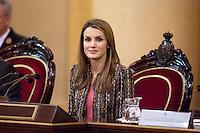 Letizia Ortiz at Senate