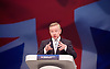 Conservative Party Conference<br /> Manchester, Great Britain <br /> 4th October 2015 <br /> Day 1<br /> <br /> <br /> Michael Gove MP<br /> speech <br /> <br /> <br /> Photograph by Elliott Franks <br /> Image licensed to Elliott Franks Photography Services