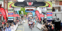 Picture by Alex Whitehead/SWpix.com - 11/05/2017 - Cycling - Tour Series Round 2 -  Stoke on Trent - Matrix Fitness Grand Prix Series Women's Race, Stoke on Trent - England - Katie Archibald wins