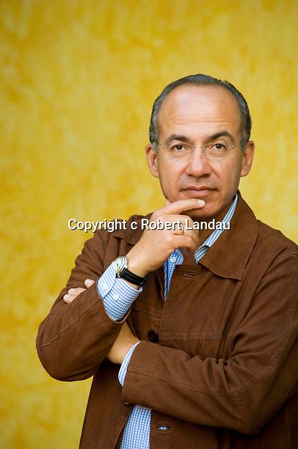President Felipe Calderon of Mexico