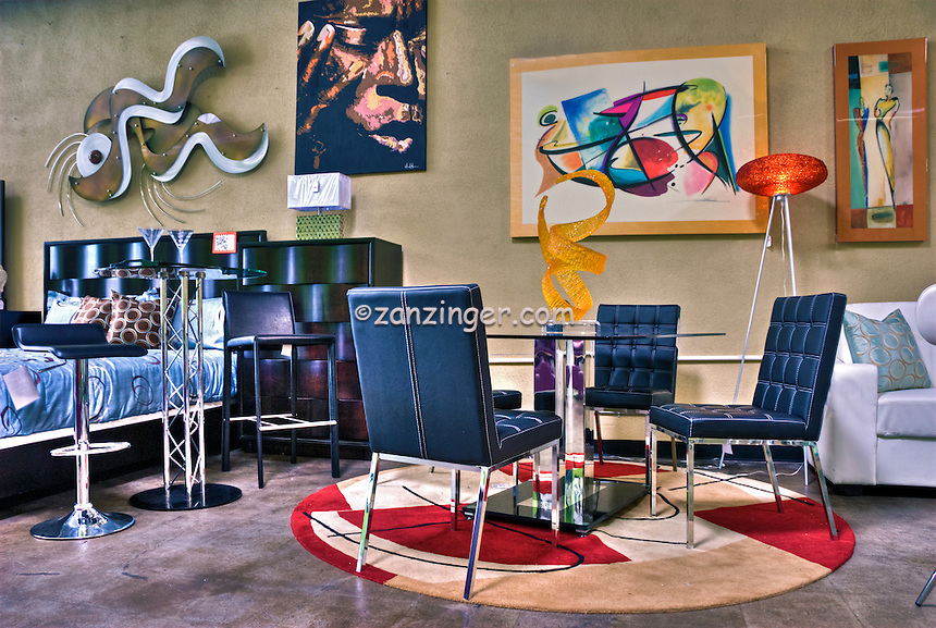 NOHO Modern Furniture, Retail Store, colorful, unique