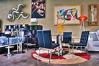 NOHO Modern Furniture, Retail Store, colorful, unique