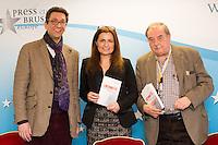 Affaire Lhermitte - Conf. de presse - Alessandra d'Angelo & Michel Schaar - Belgique