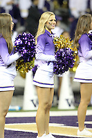 Nov 08, 2014:  Washington cheerleader Julie McConnell pumped up fans during the game against UCLA.  Washington defeated UCLA at Husky Stadium in Seattle, WA.