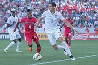 Carson, CA - Sunday, February 8, 2015 Matt Hedges (3) of the USMNT. The USMNT defeated Panama 2-0 during an international friendly at the StubHub Center.