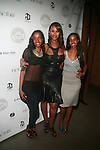 Idyl Mohallim, Iman and Ayaan Mohallim  Attend the Destination IMAN Website Launch Party at The Electric Room at The Dream Downtown, NY  9/7/12