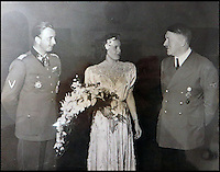 Gretl Braun's Nazi wedding.