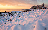 """Winter's Dawn"" - The Seawall   #A26"