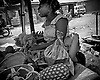 Lagos Nigeria. As a result of extremely high unemployment rates much of the local economies are a result of markets and roadside shops/stalls.