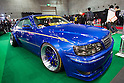 February 10, 2012, Osaka, Japan - A custom vehicle is seen on display at the Osaka Auto Messe car show. This annual car dress-up and tuning motor show is held from February 10-12. (Photo by Christopher Jue/AFLO)
