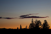 """Tahoe National Forest Sunset"" - This sunset was photographed near Martis Peak in the Tahoe National Forest."