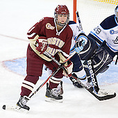 Alex Carpenter (BC - 5) - The visiting University of Maine Black Bears defeated the Boston College Eagles 5-2 on Sunday, October 30, 2011, at Kelley Rink in Conte Forum in Chestnut Hill, Massachusetts.