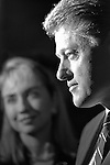Candidate for US President Bill Clinton in Los Angeles.